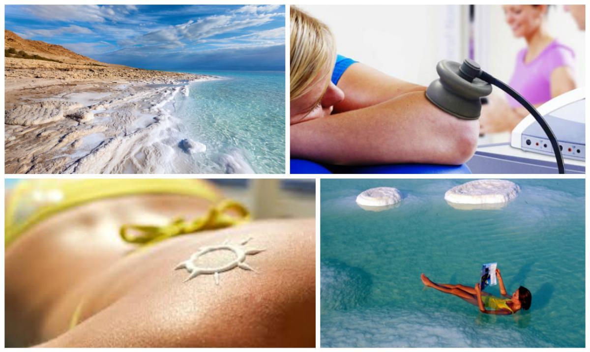 лечение псориаза на мертвом море, процедуры, мертвое море