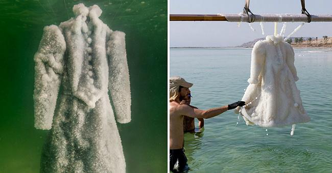 Платье из соли Мертвого моря