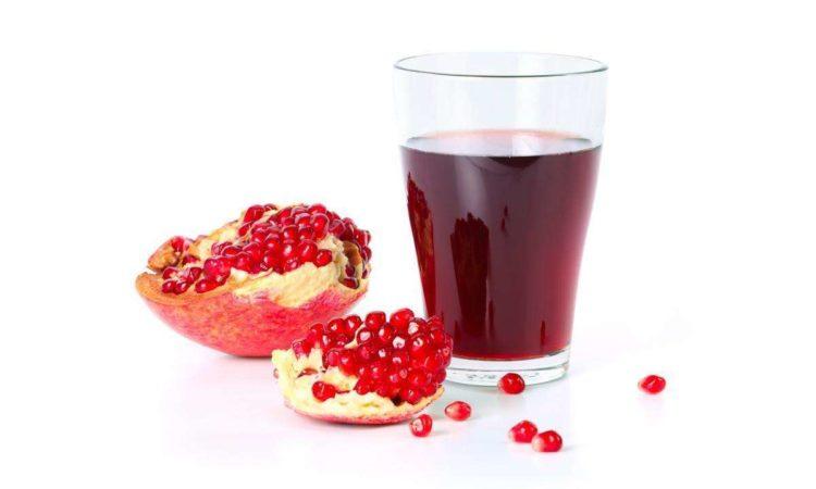 Гранатовый сок уменьшает риск возникновения рака